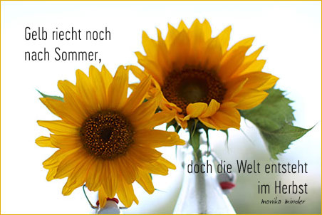 September Gedichte Und Kurze Sprüche